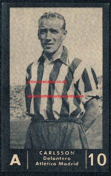 1950 Balon Carlsson Atlético Madrid
